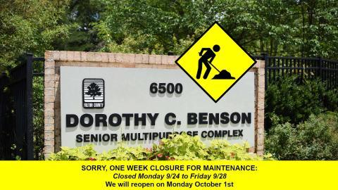 Closed week 39
