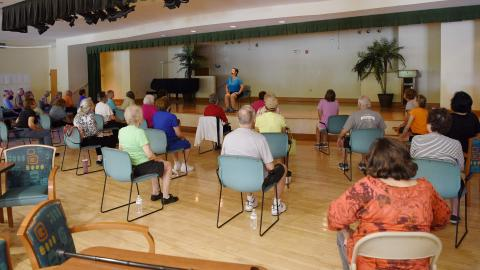 Senior Stretch (Chair Yoga)