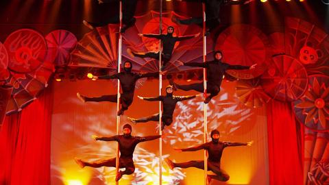 Acrobats of China